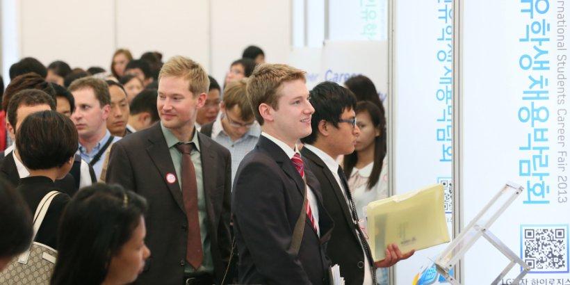 University Career Fair SouthKorea Headline