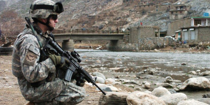 US soldier in Afghanistan
