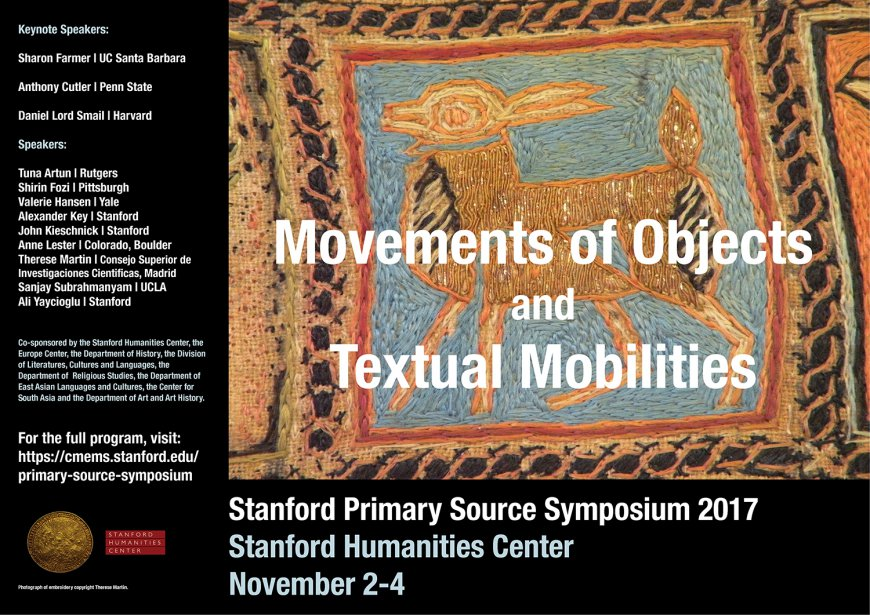 Stanford Primary Source Symposium 2017 poster