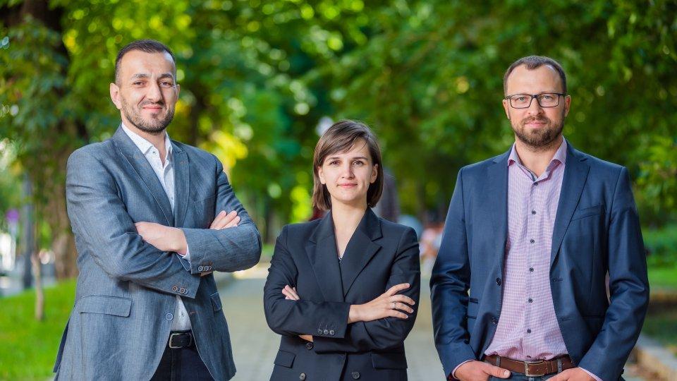 Nariman Ustaiev, Yulia Bezvershenko, Denis Gutenko