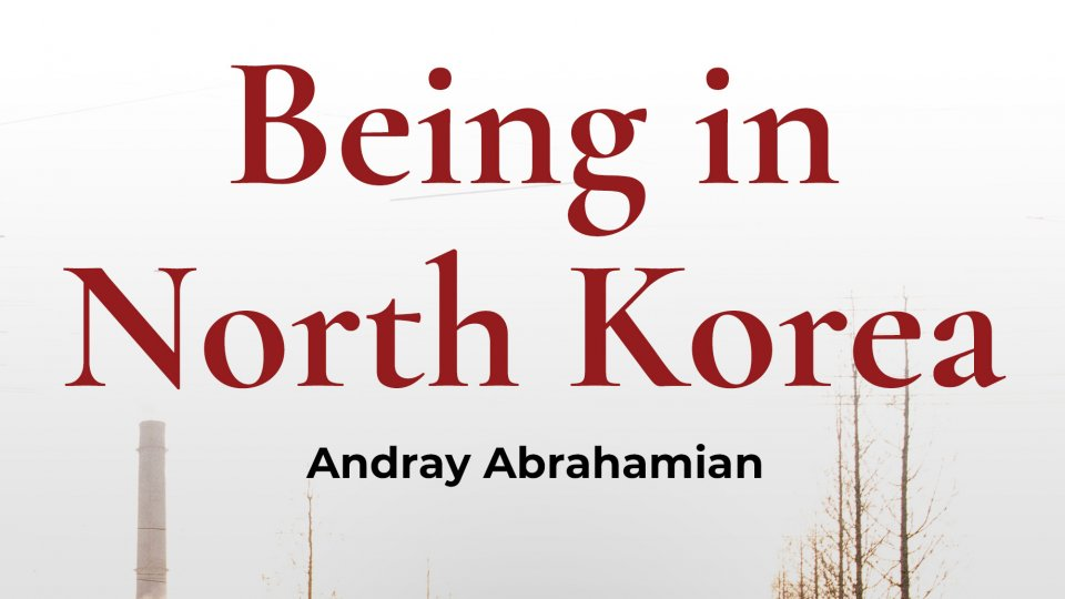 Cover of the book 'Being in North Korea'