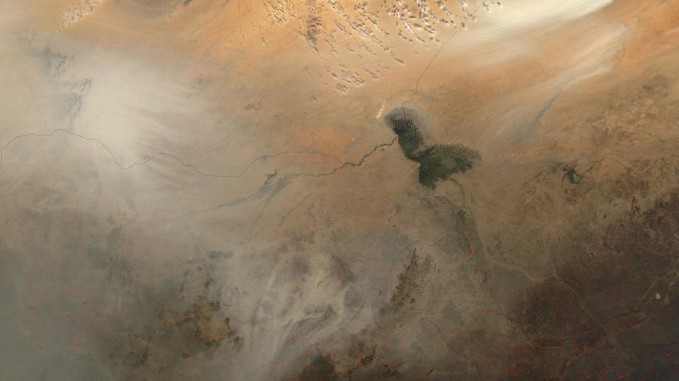 dust storms from africas bodele depression natural hazards dvids852942