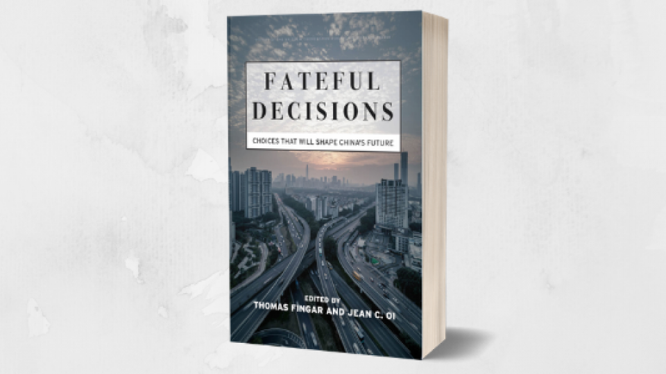 Cover of the book Fateful Decisions: Choices that Will Shape China's Future