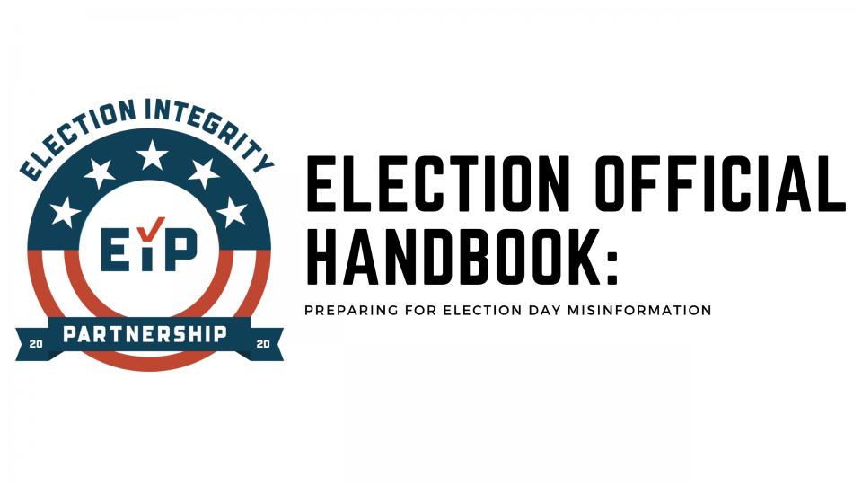 EIP election official handbook