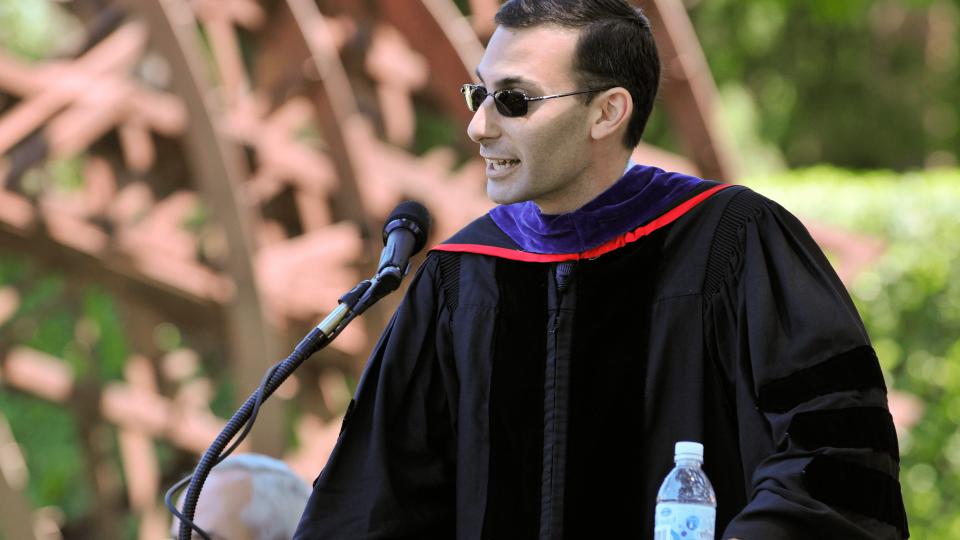 CISAC Honors Program alum Michael Sulmeyer