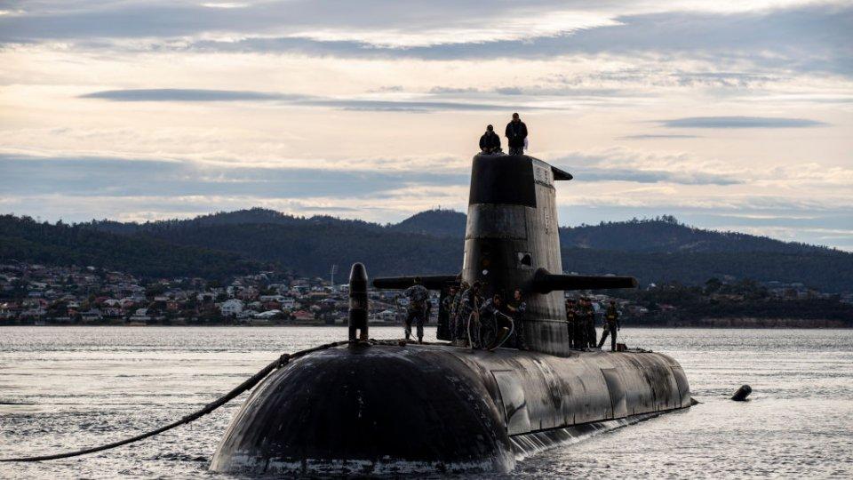 Australian Navy submarine HMAS Sheean