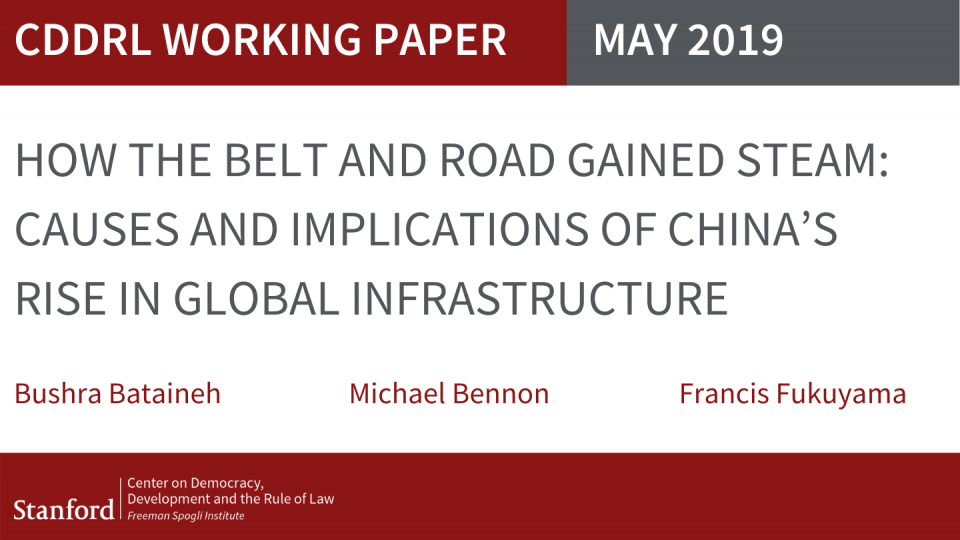 How the Belt and Road Gained Steam: Causes and Implications of China's Rise in Global Infrastructure