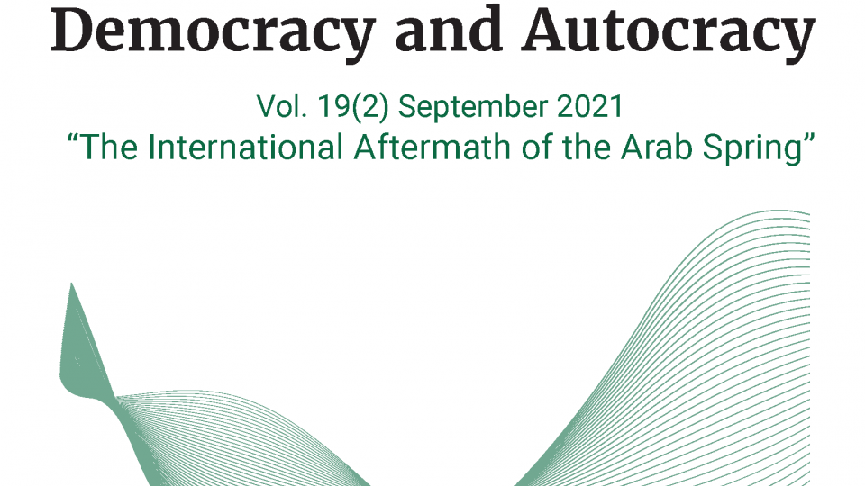 Democracy and Autocracy cover September 2021