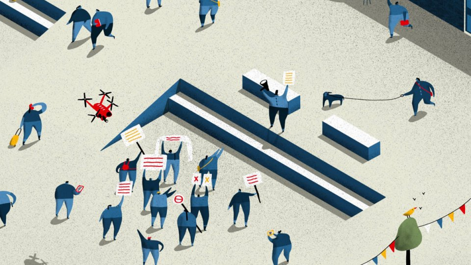illustration for article Amplification and Its Discontents
