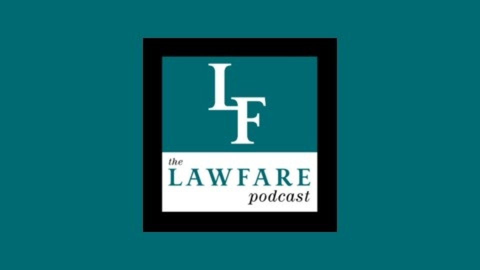 Lawfare podcast icon