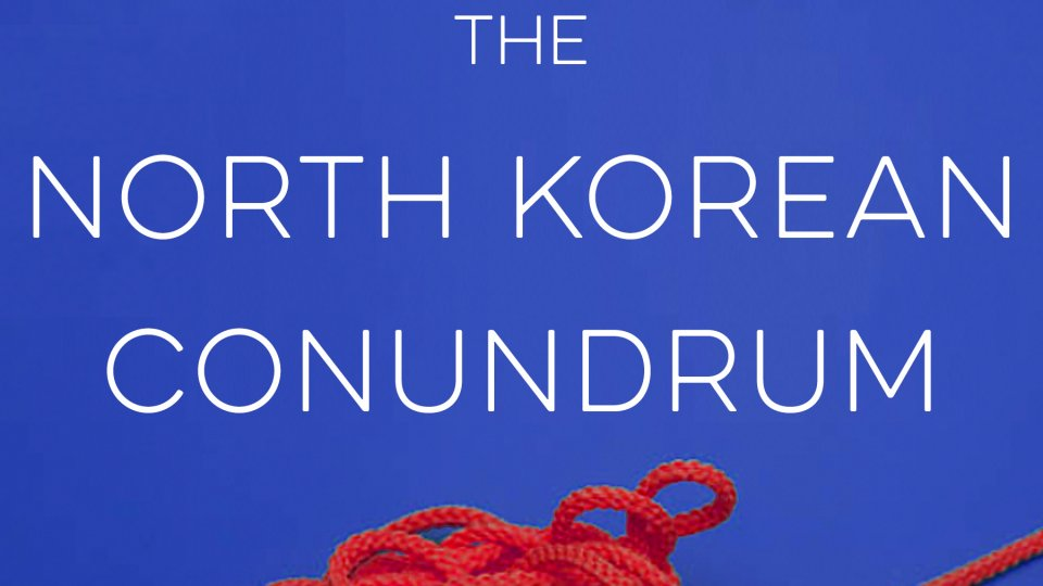 The book cover of The North Korean Conundrum