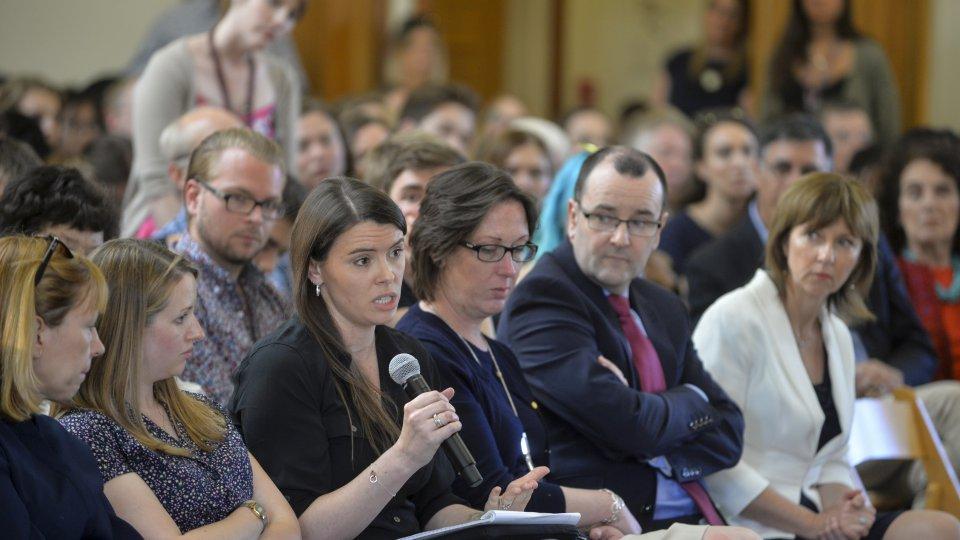 Q&A session, Nicola Sturgeon event, April 2017