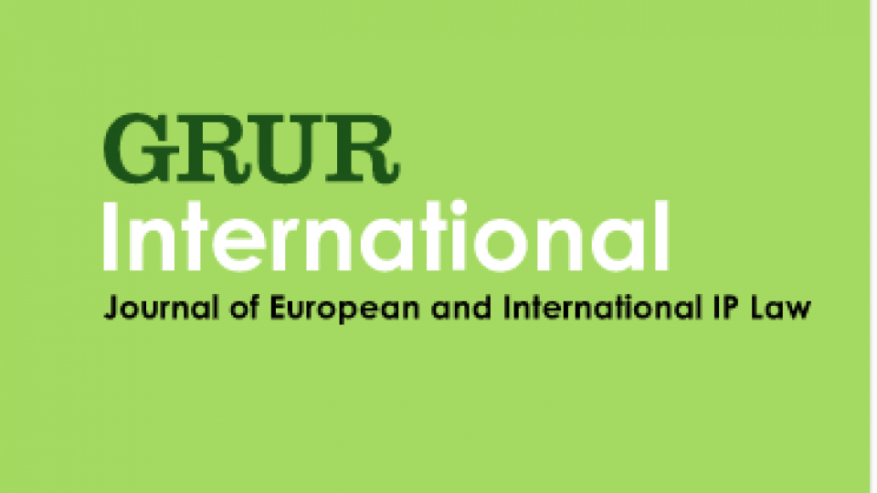 GRUR International Icon
