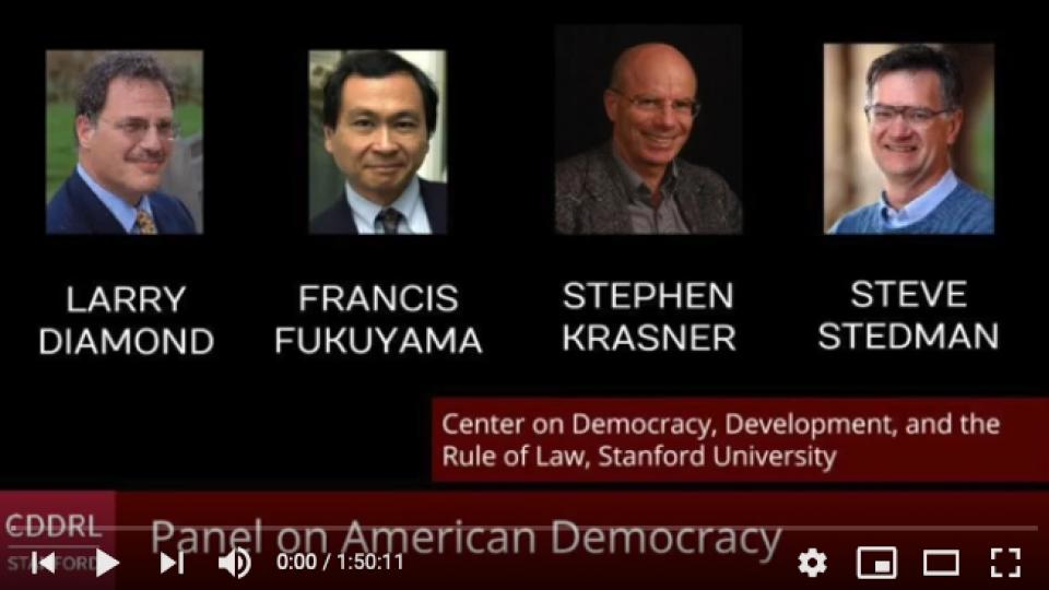 Panel on Amerian Democracy