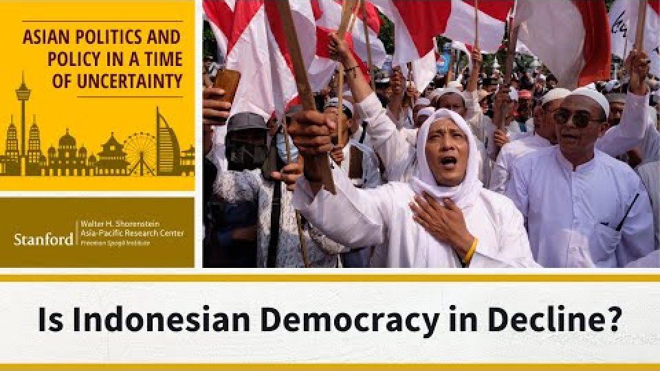 Is Indonesian Democracy In Decline?