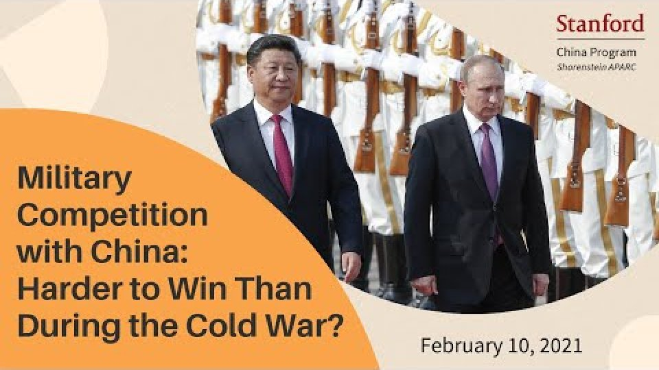 Military Competition with China: Harder to Win Than During the Cold War?