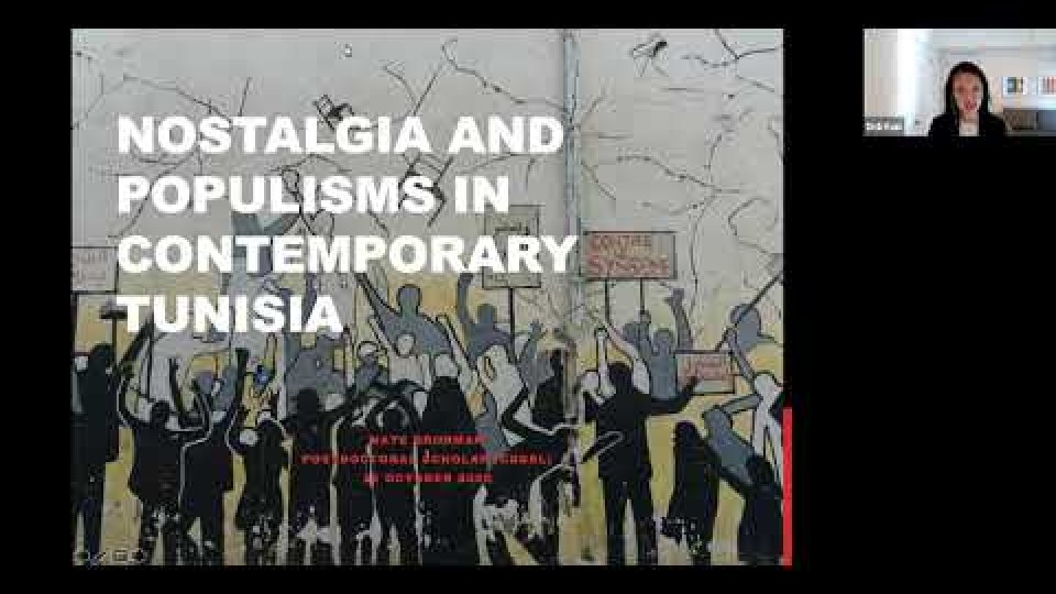 Nostalgia and Populisms in Contemporary Tunisia