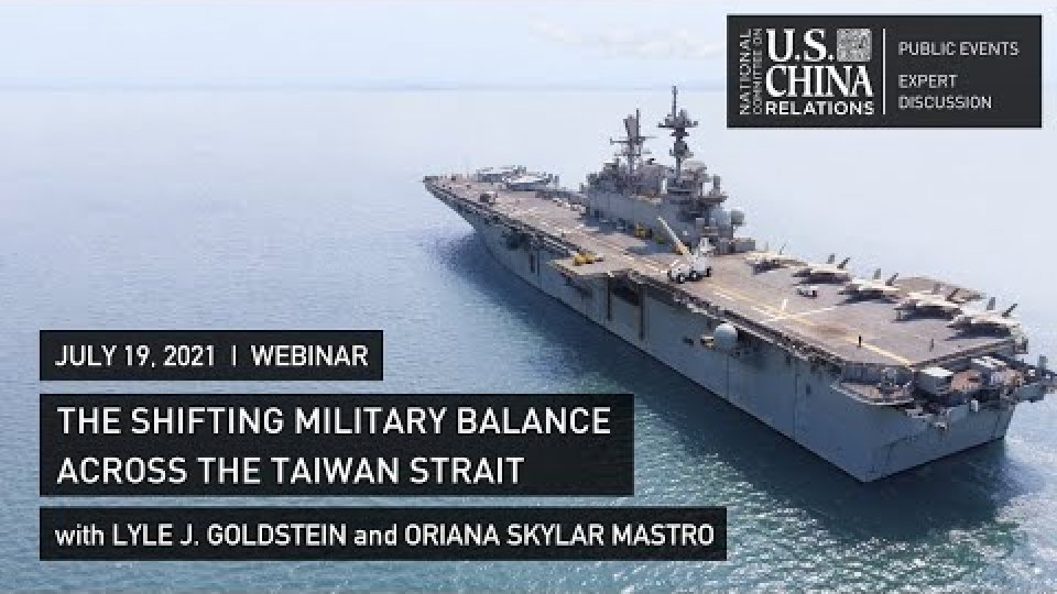 The Shifting Military Balance Across the Taiwan Strait