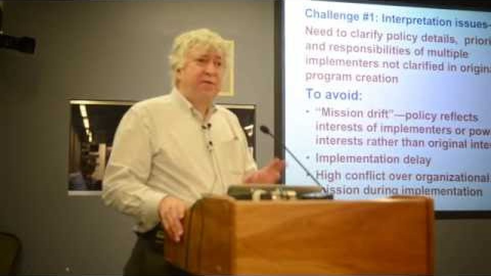 Challenges of Policy Implementation