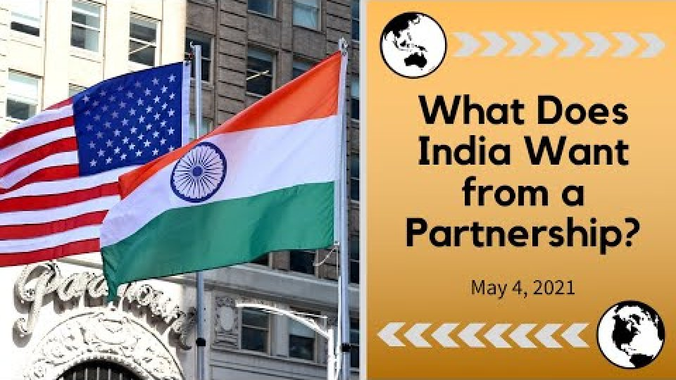 What Does India Want from a Partnership?