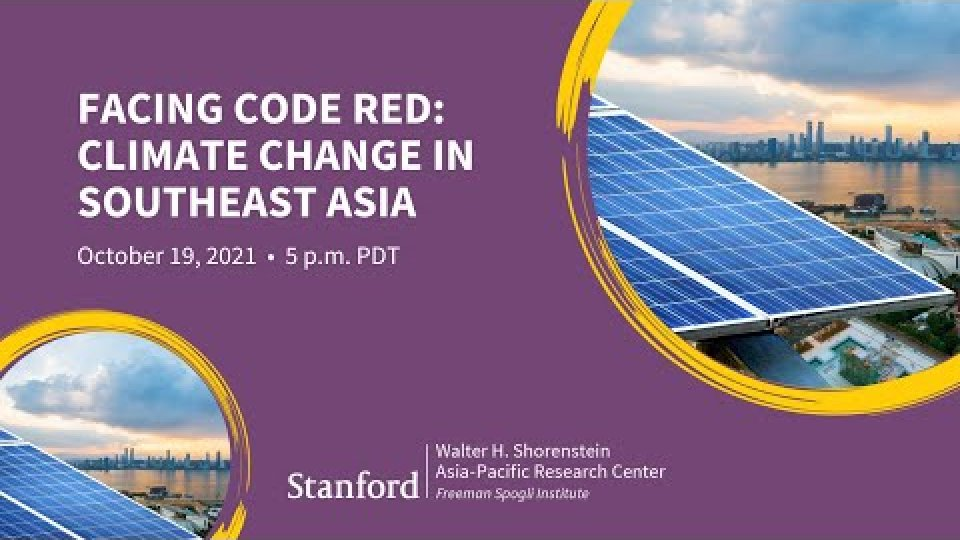 Facing Code Red: Climate Change in Southeast Asia | Angel Hsu and Melissa Low