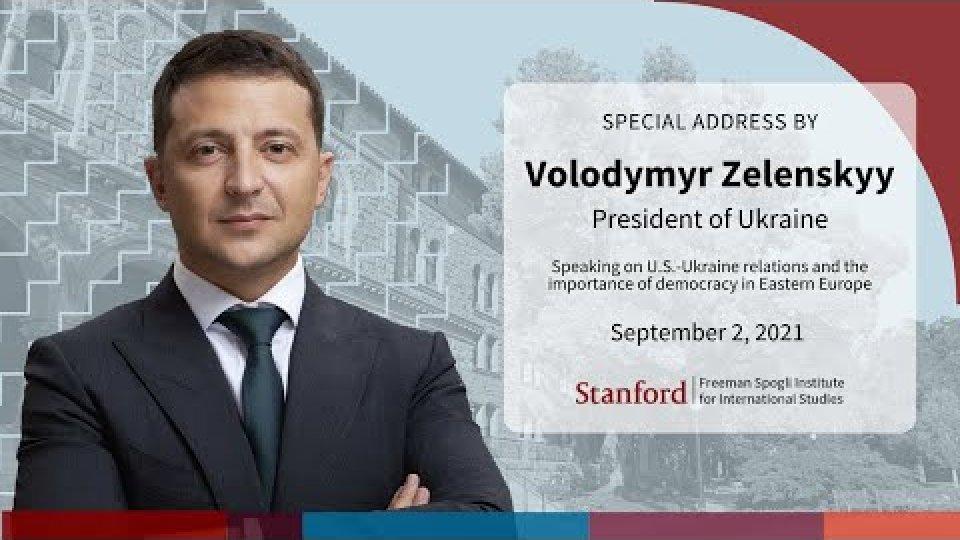 Address by Ukrainian President Volodymyr Zelensky