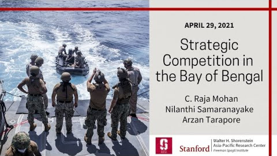 Strategic Competition in the Bay of Bengal