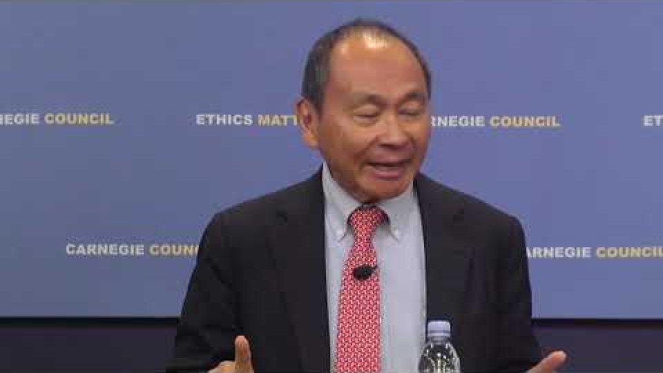 Francis Fukuyama: National Identity vs. Identity Politics