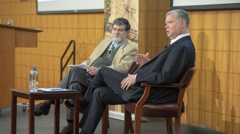 U.S. Special Representative for North Korea Stephen Biegun in conversation with Robert Carlin at Stanford