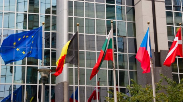 Flags of European Countries and the European Union
