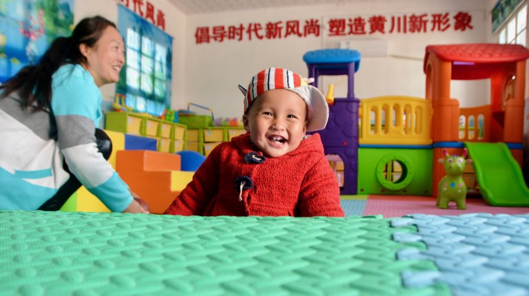 smiling baby parenting center