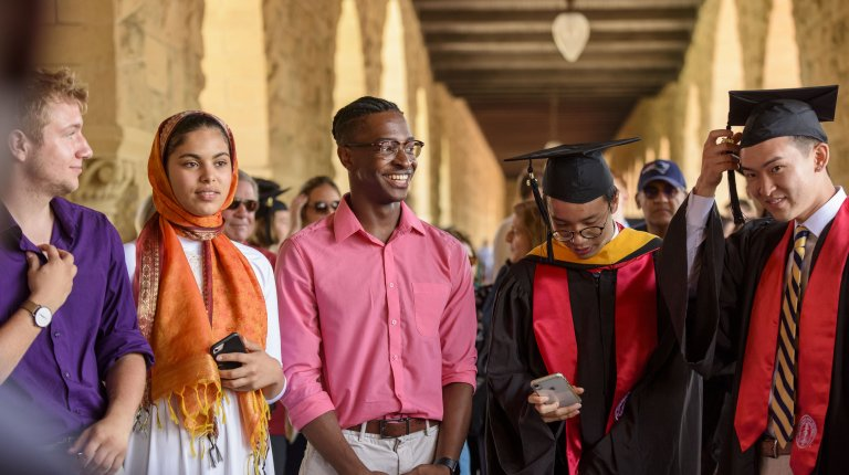 Stanford Talisman at Baccalaureate