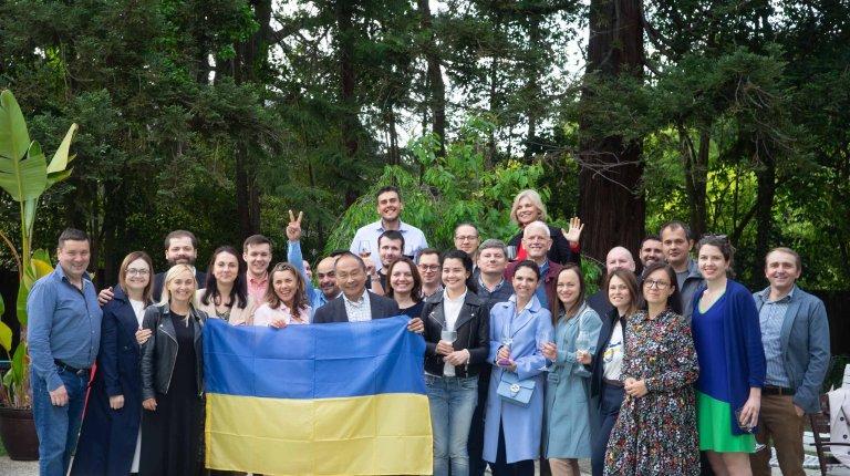 Group photo with Fukuyama