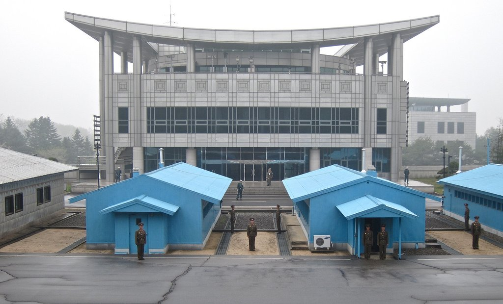 Joint Security Area;  Panmunjom, DPRK (North Korea)