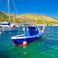 Fishing boat on the Adriatic Sea