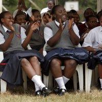 african girls school getty