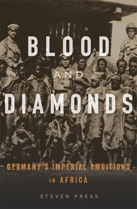 Blood and Diamonds book cover
