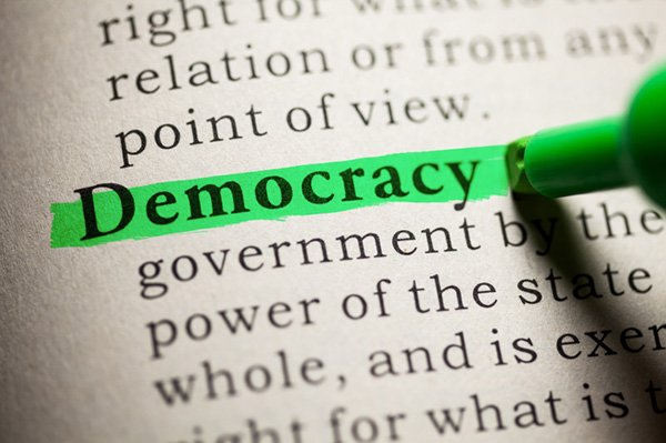 democracy stock image