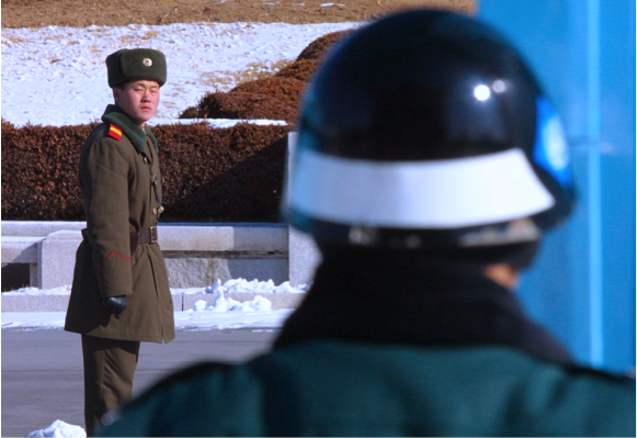 Tensions Increase On DMZ Over North Korea's Nuclear Crisis