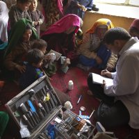 gettyimages afghanistan mobile clinic