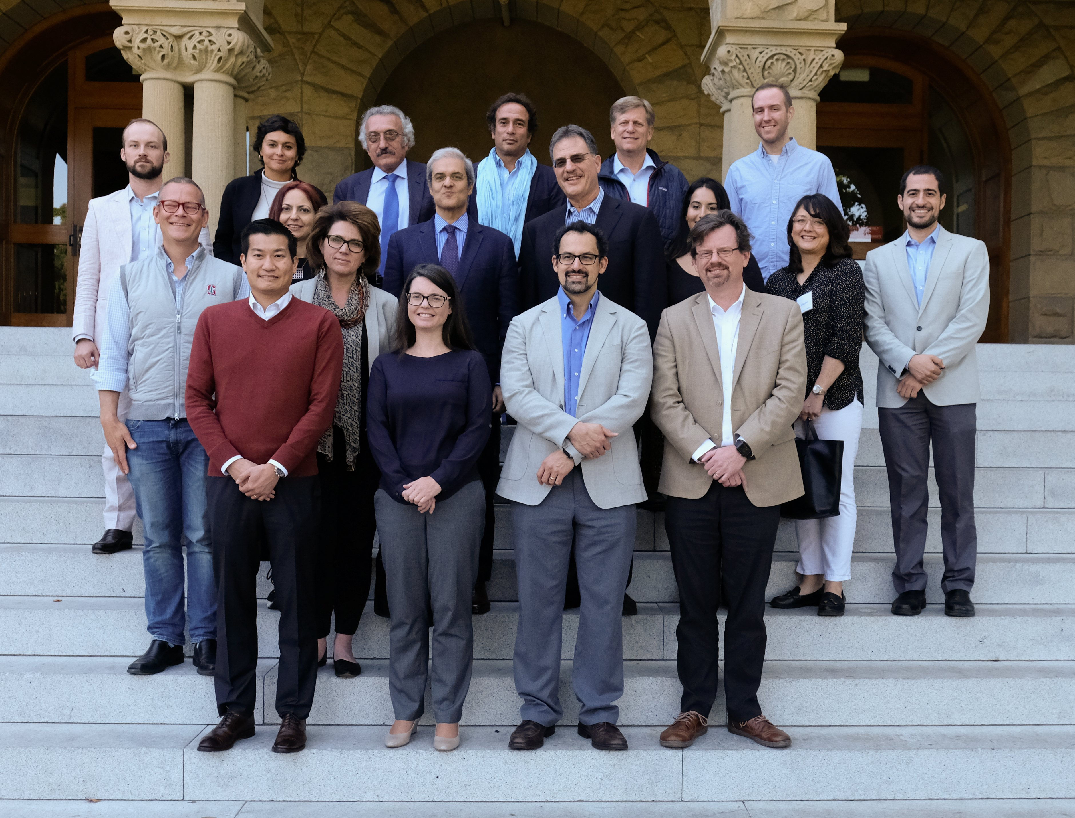 group photo from annual conference
