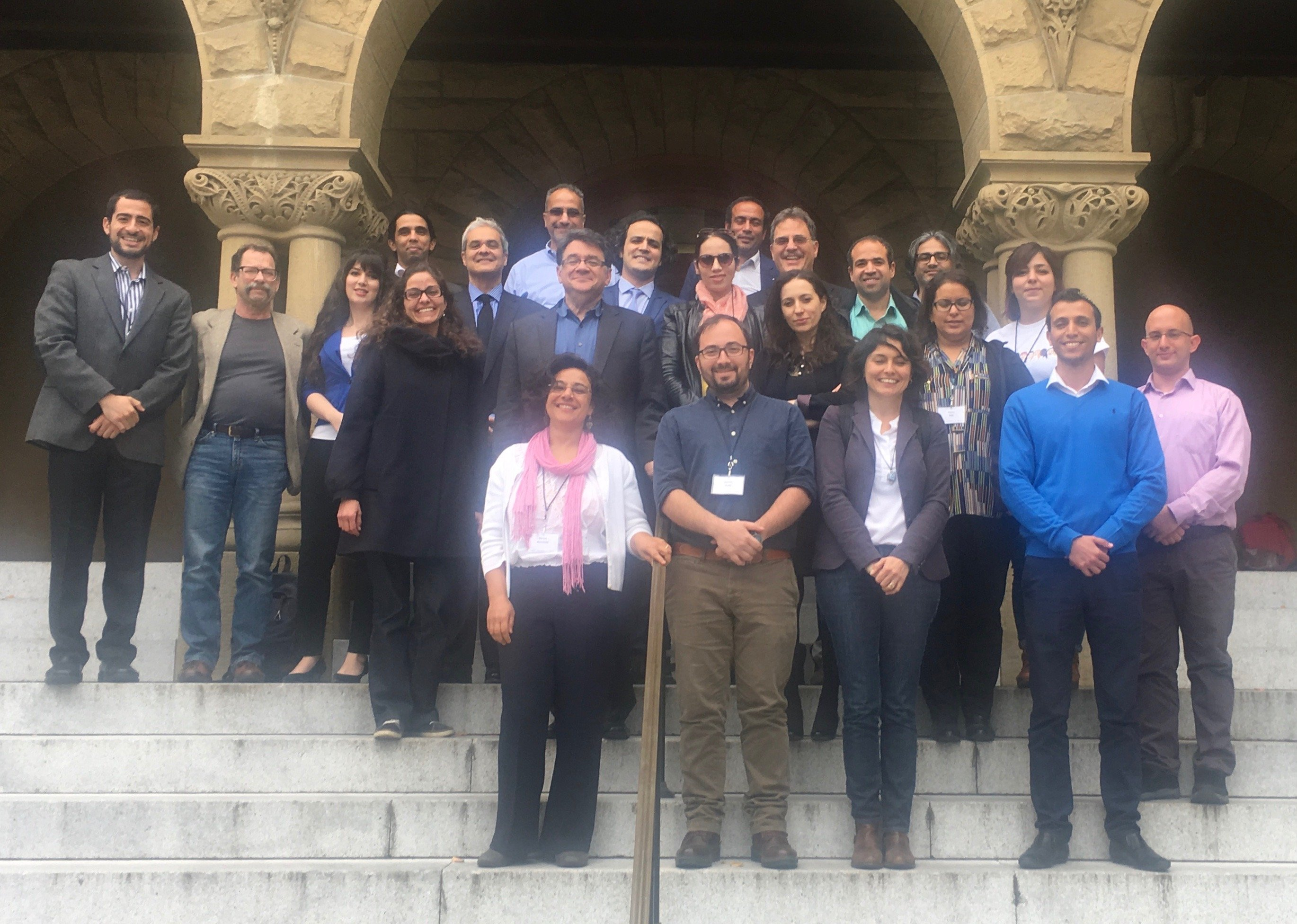 group photo from conference