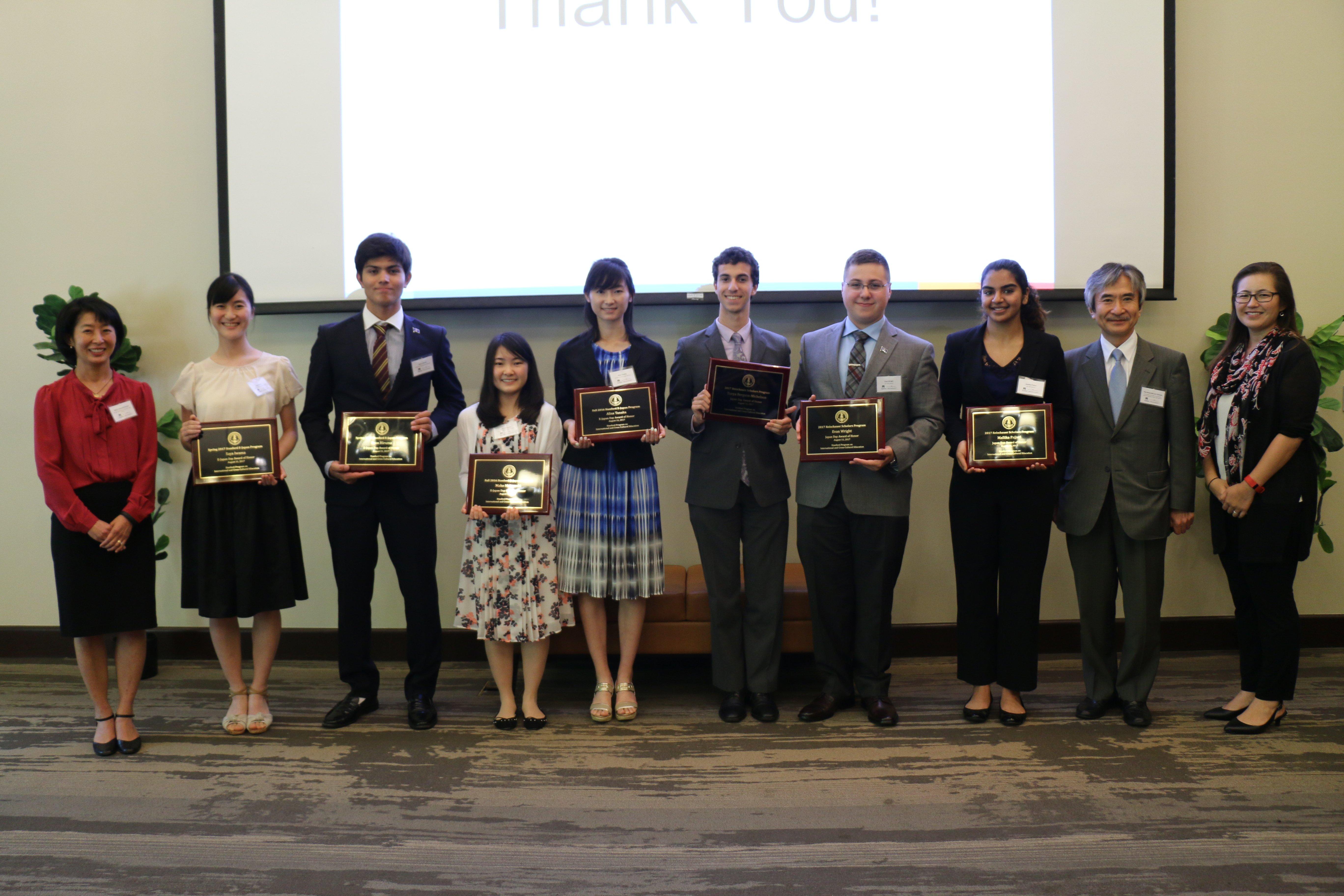 honorees with cg yamada waka naomi