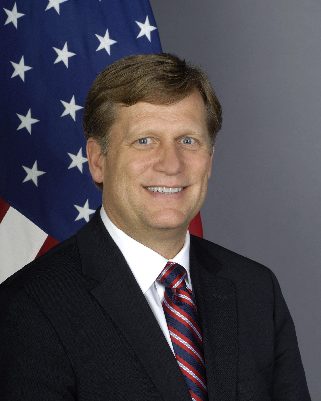 Portrait of Michael McFaul