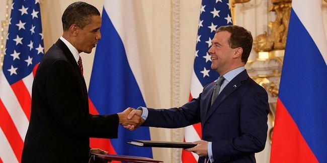 Start Treaty Obama Medvedez