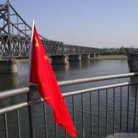 nkorea china border bridge