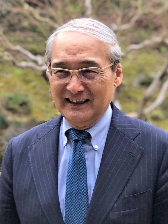 Portrait of Fumiaki Kubo