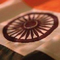 India flag Close up