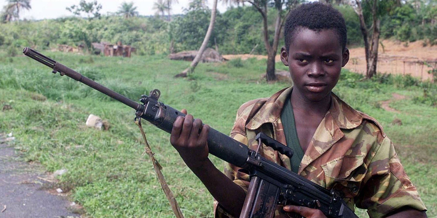 Conflict Resolution Child Soldier