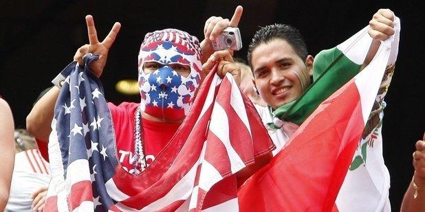 usa mexico fans